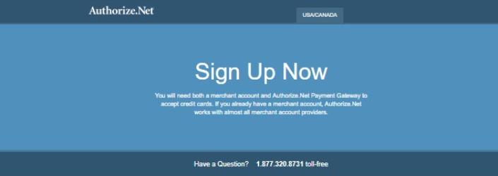 Authorize Net API Documentation - Authenticating API